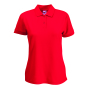 65/35  Lady-Fit Polo, Red, XXL, FOL