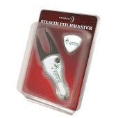 Stealth Pitchmaster Automatic Pitchfork met Ballmarker in standaard Blister