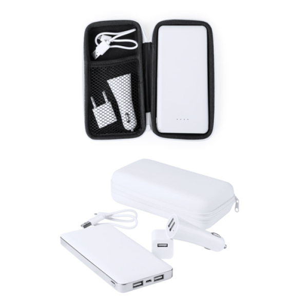 Atazzi - USB power bank en lader set