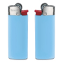 J25 Lighter BO light blue_BA white_FO red_HO chrome
