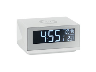 SKY SPEAKER - LED clock & wireless charger