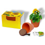 Terracotta Pot Sun, incl. 1-4 c digital printing