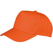 Boston junior cap orange one size