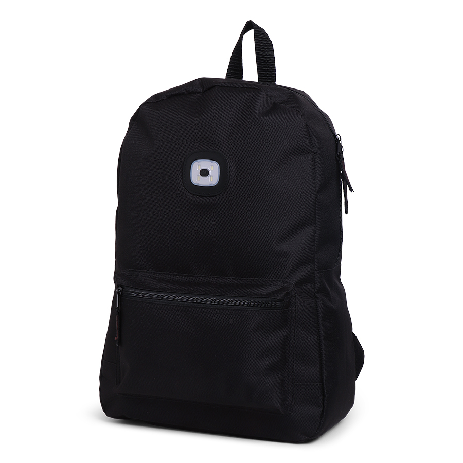 Norländer Urban Tourist Backpack Black LED
