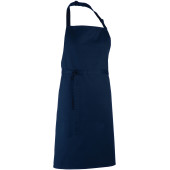 Colours bib apron navy one size