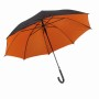 "Autom.Stickumbrella""Doubly""black/orange"