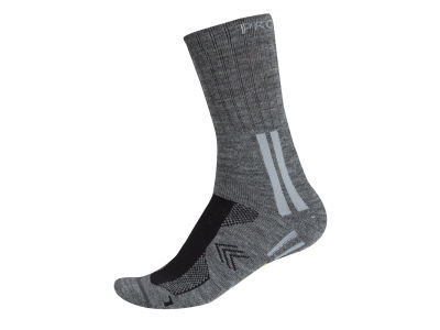 9027 LONG TECHNICAL SOCK GREY 4648
