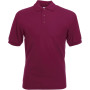 65/35 polo (63-402-0) burgundy xl