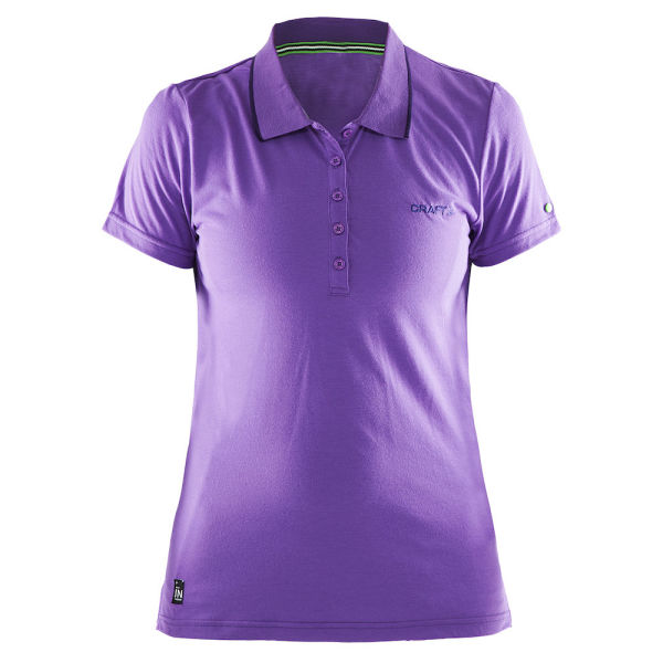 In-The-Zone Polo Piqué Wmn