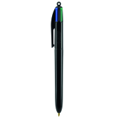 4 Colours ballpen LP black_UP black_RI black