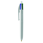 4 Colours Mini ballpen LP white_UP white_RI white