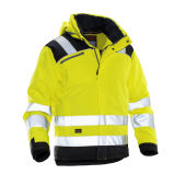 Jobman 1347 Hi-vis winter jacket star geel/zwart xxl