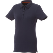 Atkinson button-down dames polo met korte mouwen - Navy - XS