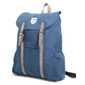 Vintage Canvas Backpack Adventurer Blue