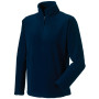 1/4 zip outdoor fleece french navy xl
