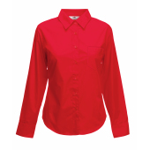Lady-Fit longsleeve Poplin Shirt