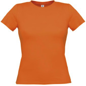 B&c women-only t-shirt pumpkin orange xl