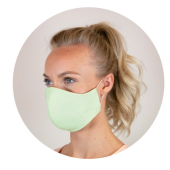 5 Reusable medical cotton face masks
