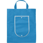 Nonwoven (80 g/m²) foldable shopping bag