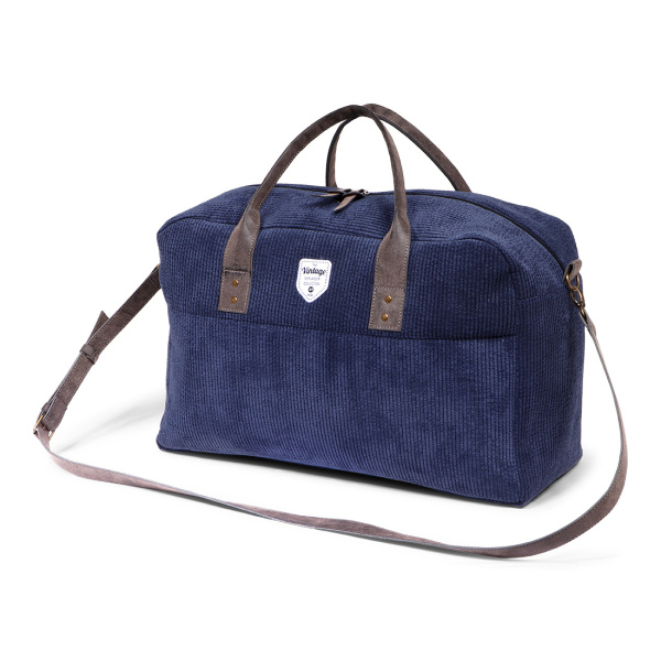Vintage Ribble Weekendbag Blue