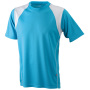 Running-T Junior turquoise/wit