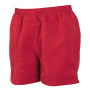 All purpose lined short red xl