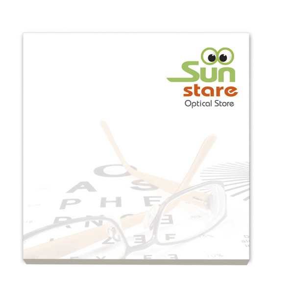 BIC® 75 mm x 75 mm 100 Sheet Adhesive Notepads Ecolutions®