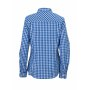 Ladies' Checked Blouse royal/wit