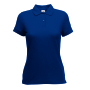 65/35  Lady-Fit Polo, Navy, XS, FOL