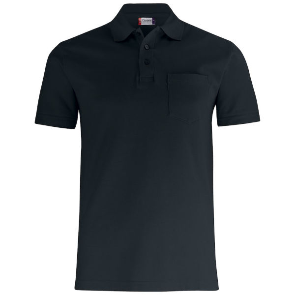 Clique Basic Polo Pocket Pique