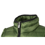 Ladies' Quilted Down Jacket - gebroken wit/zwart