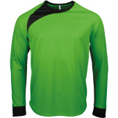Keepershirt lange mouwen fluorescent green / black xxl