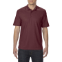 Gildan Polo Performance Double Pique SS for him maroon 3XL