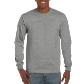 Gildan T-shirt Hammer LS Graphite Heather S