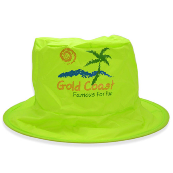Foldable Fisher Hat - Lime Green