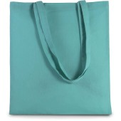 Basic shopper blue turquoise one size