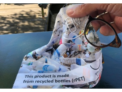 Eco rpet glasses cleaning cloth
