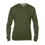 Anvil Sweater Crewneck for her City Green-35% Korting M