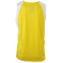Men's Running Tank - geel/wit