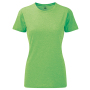 Ladies HD T-Shirt XL Green Marl