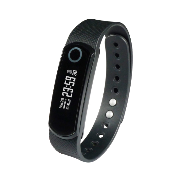 Activity Tracker Premium Plus Heart Rate - black