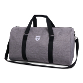 Vintage Twin Tone Weekend Bag Grey