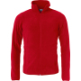 Clique Basic Polar Fleece Jacket rood xs