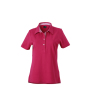 Ladies' Plain Polo paars/paars-wit