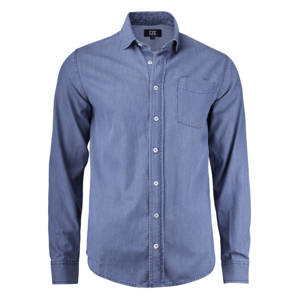 Cutter & Buck Ellensburg Denim Shirt Men