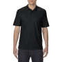 Gildan Polo Performance Double Pique SS for him black 3XL
