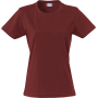 Clique Basic-T Ladies bordeaux l