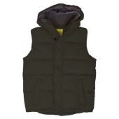 L&S Bodywarmer Hooded Unisex
