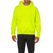 Gildan Sweater Hooded HeavyBlend for him Safety Green S