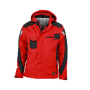 Craftsmen Softshell Jacket rood/zwart